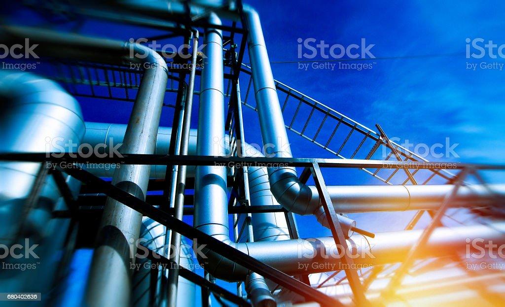 bio power plant. recycling facility stock photo