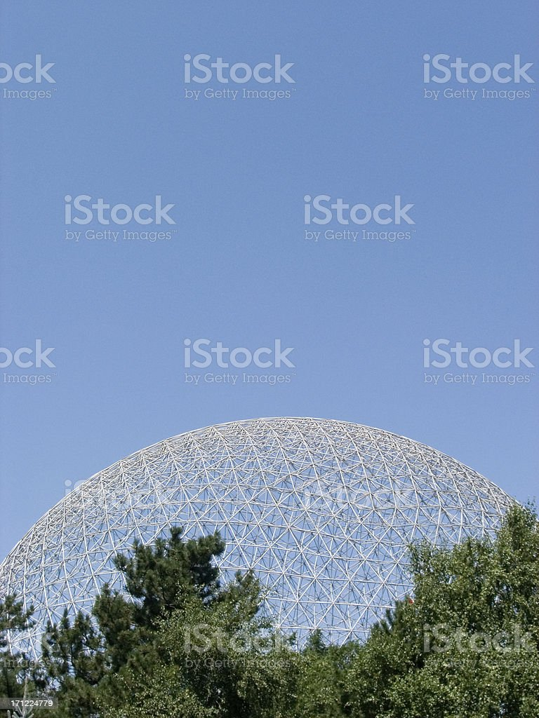 Bio Sphere royalty-free stock photo
