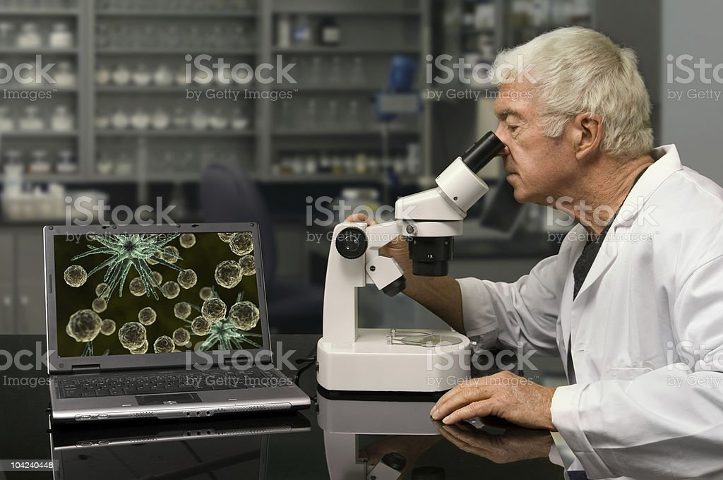 Bio Technology stock photo