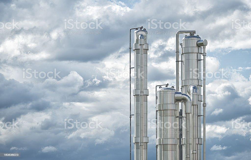 Bioenergie, Biogas energy, Energiewende, Germany. royalty-free stock photo