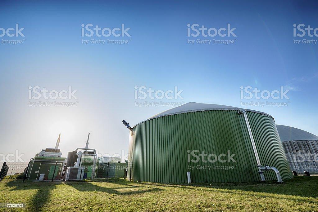Bioenergie, Biomass energy plant, Germany stock photo