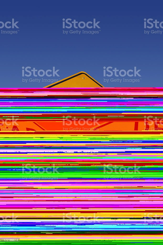 Biofeedback royalty-free stock photo