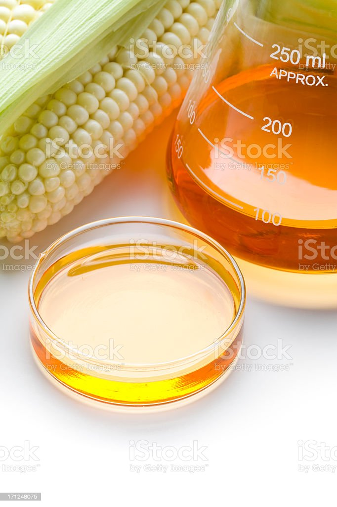 Biofuel or Corn Syrup royalty-free stock photo