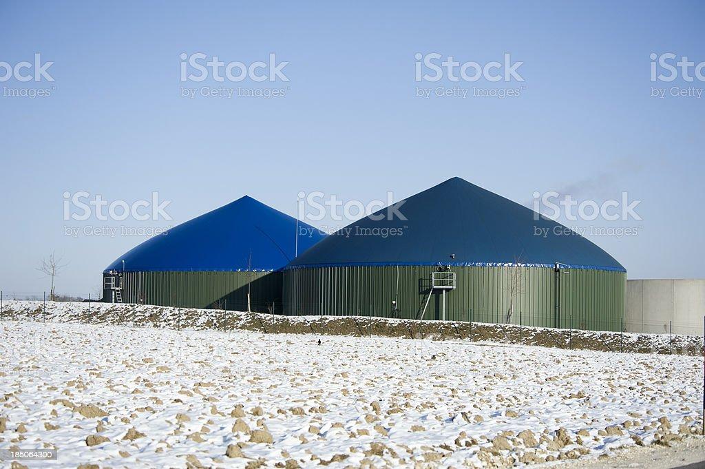 Biogas energy Germany royalty-free stock photo