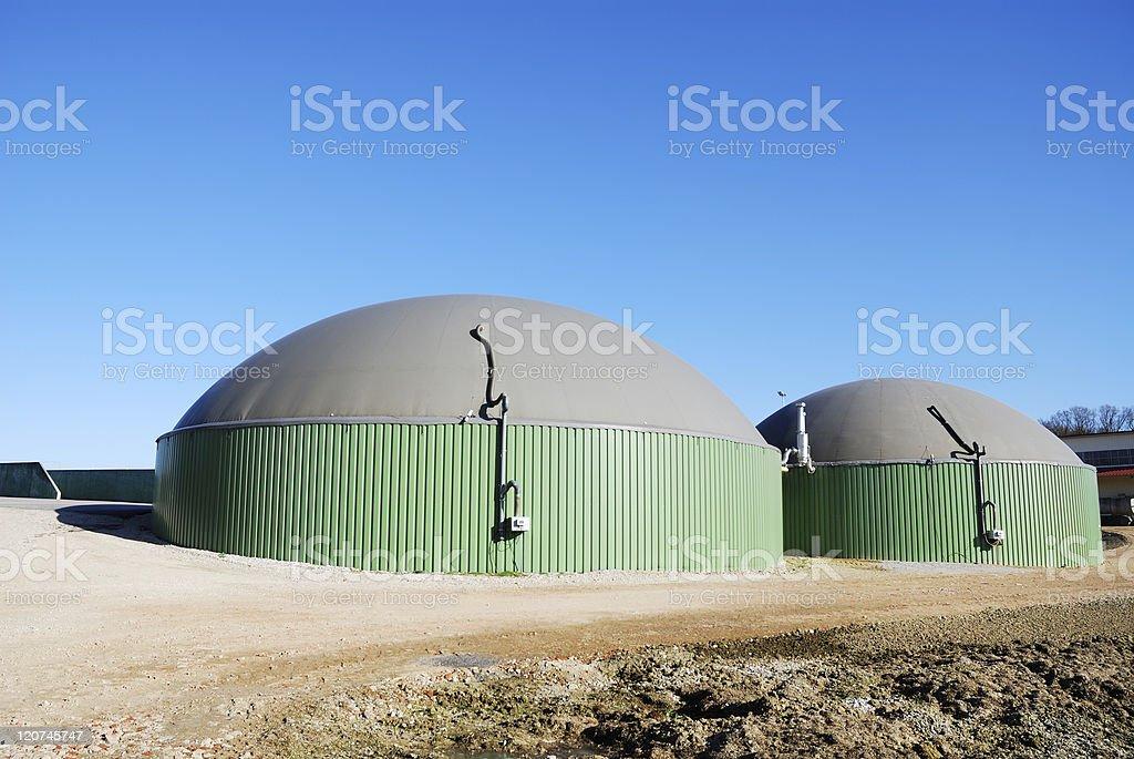 Biogas royalty-free stock photo