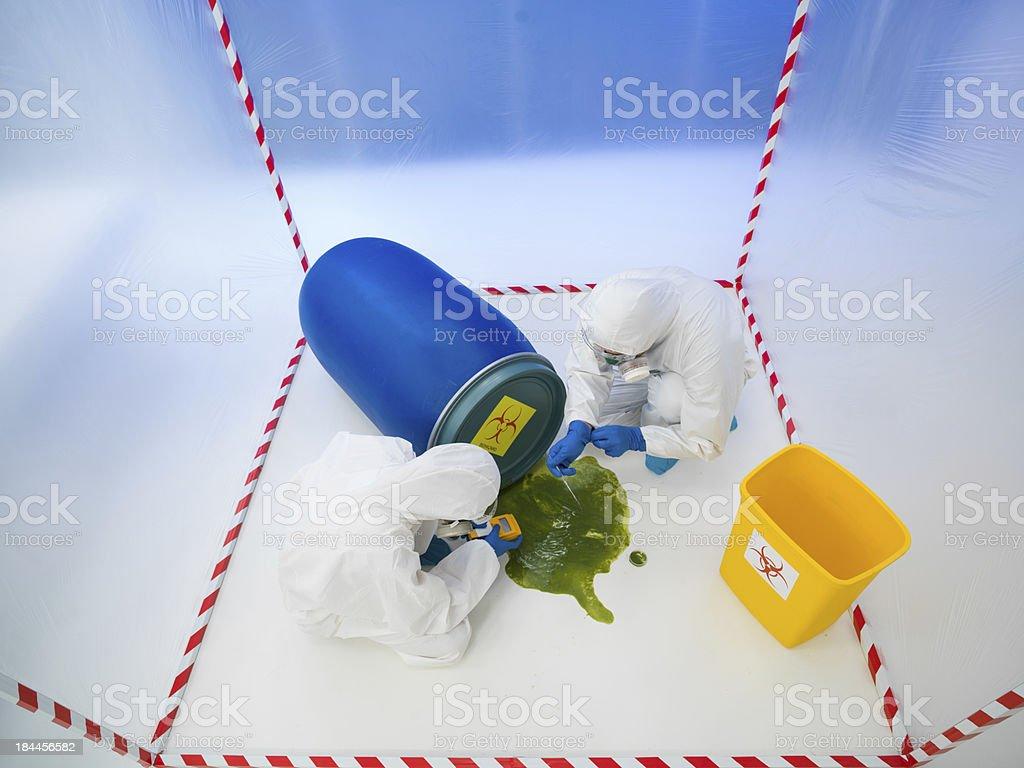 biohazard disaster royalty-free stock photo