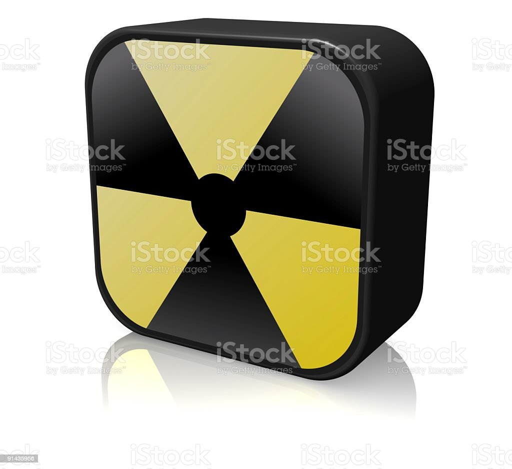 Biohazard Icon royalty-free stock photo