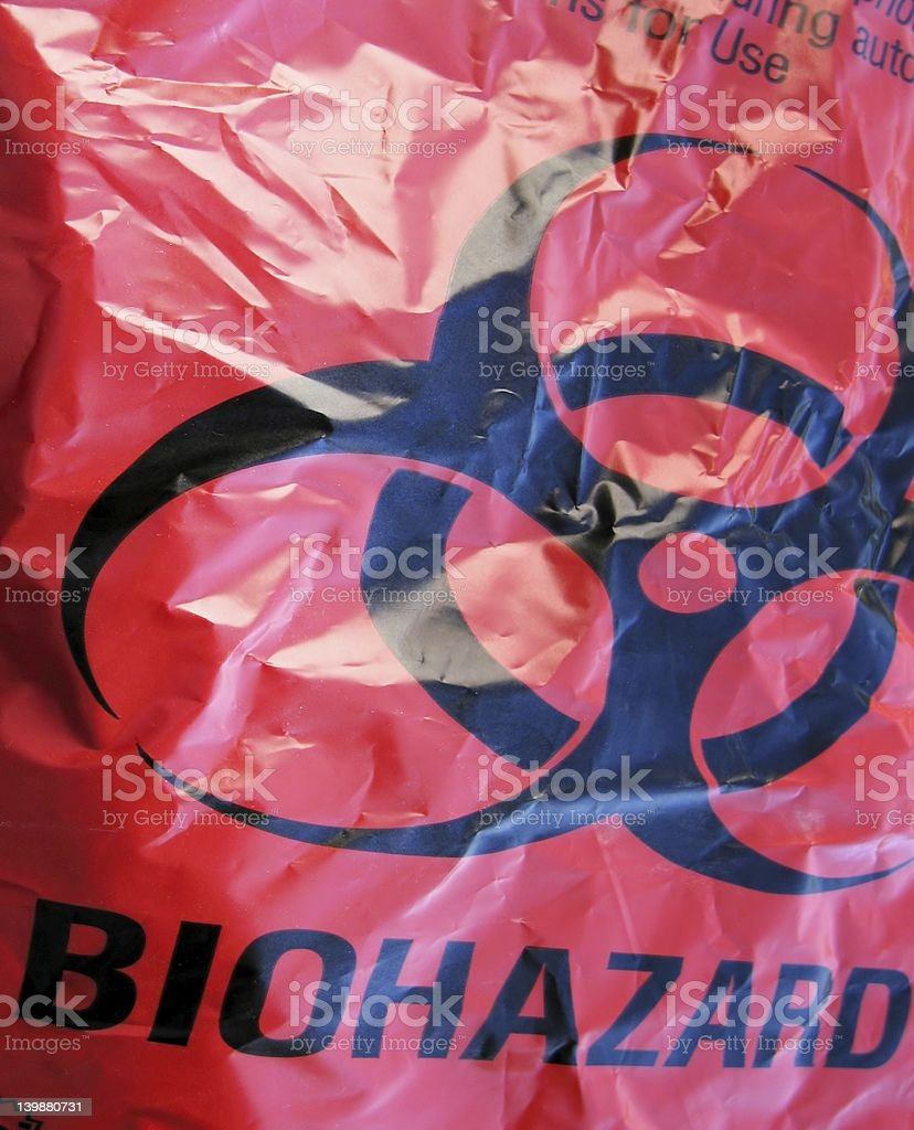 Biohazard stock photo