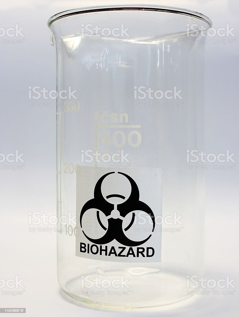 Biohazard royalty-free stock photo