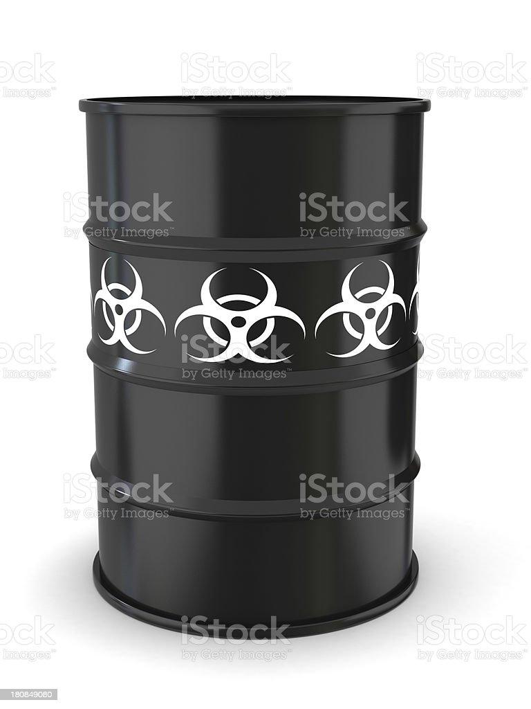 Biohazard royalty-free stock photo