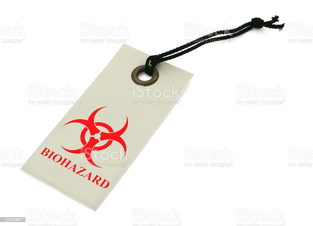 biohazard symbol royalty-free stock photo