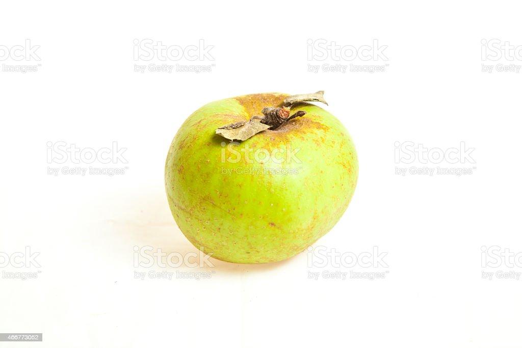 Биологические Зеленое Яблоко фрукты Стоковые фото Стоковая фотография