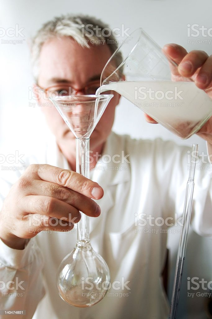 biological test royalty-free stock photo