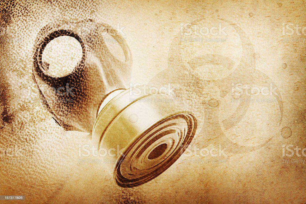 Biological Warfare / Toxic Chemical Pollution stock photo