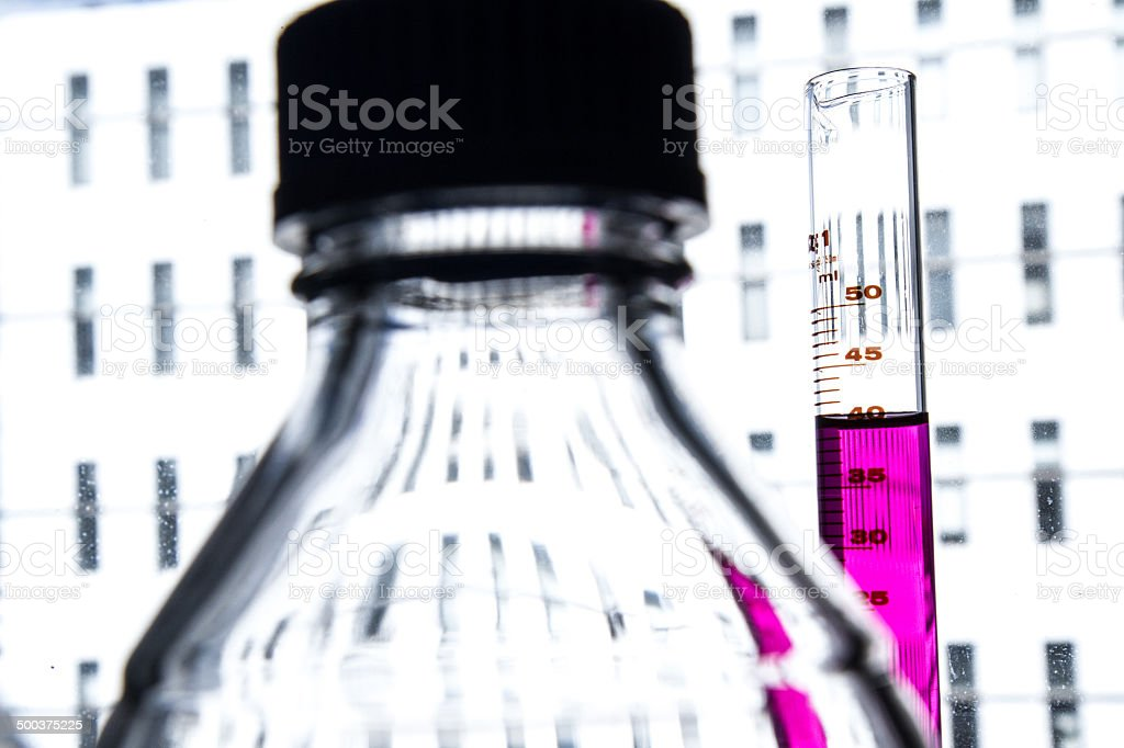 Biomedical research stock photo