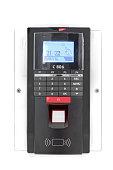 Biometric Keyless Door Lock With Thumb On Scanning Pad.
