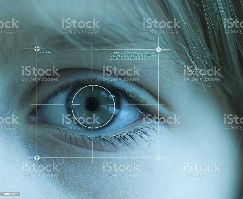 Biometrics stock photo