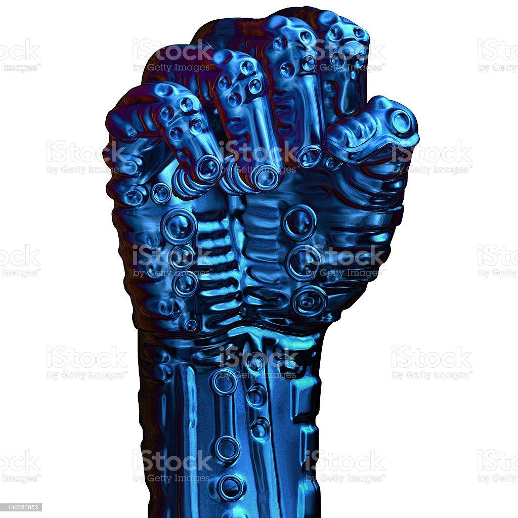 Bionic Fist royalty-free stock photo