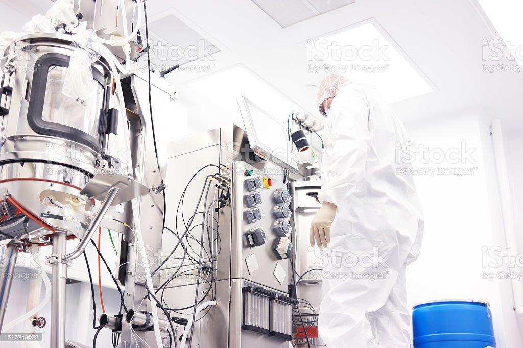 Bioreactor stock photo