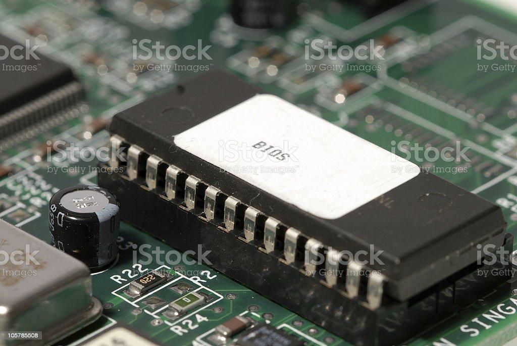 Bios Chip stock photo