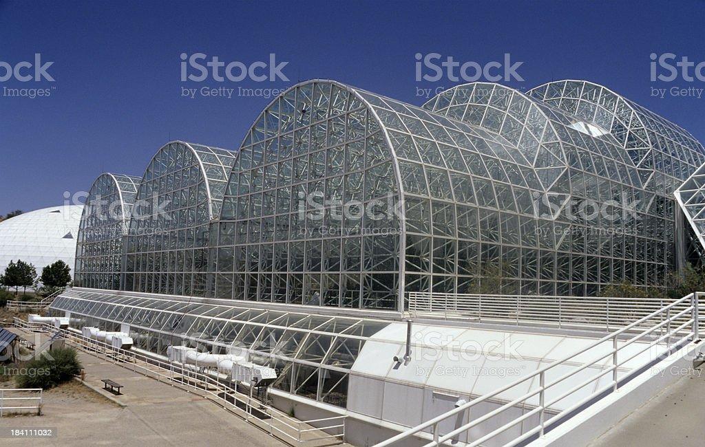 Biosphere 2, Arizona royalty-free stock photo