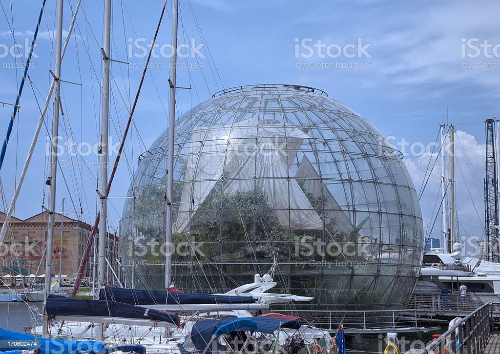 Biosphere royalty-free stock photo
