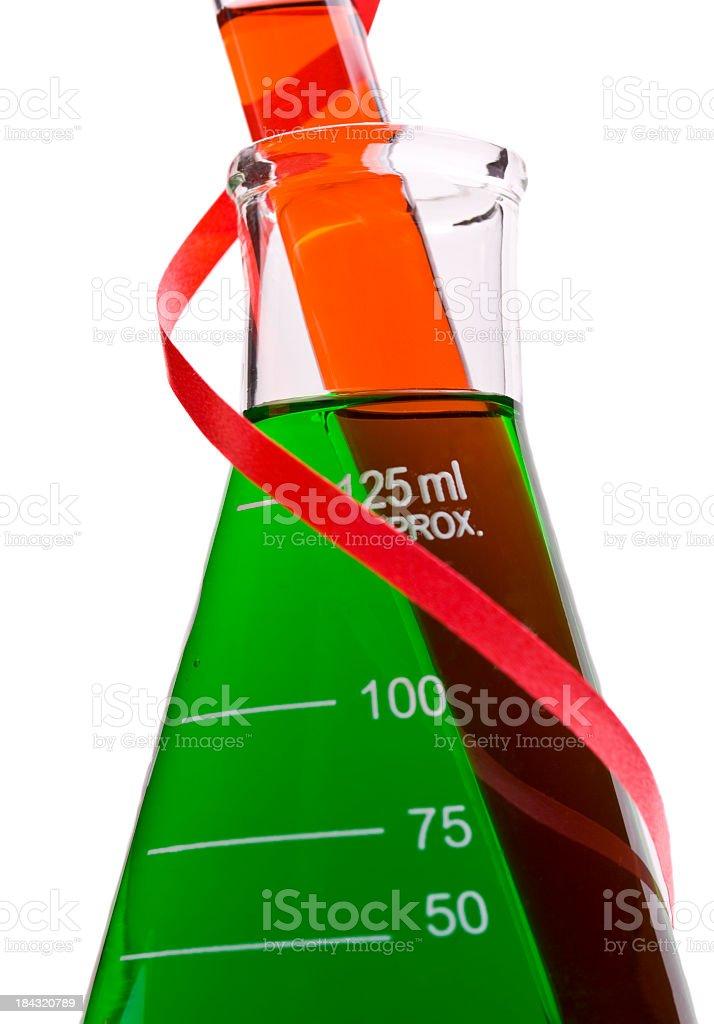 Biotech Christmas Card royalty-free stock photo