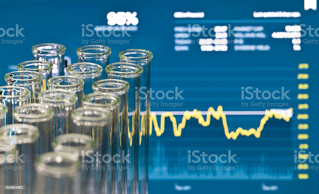 Biotech Investing royalty-free stock photo