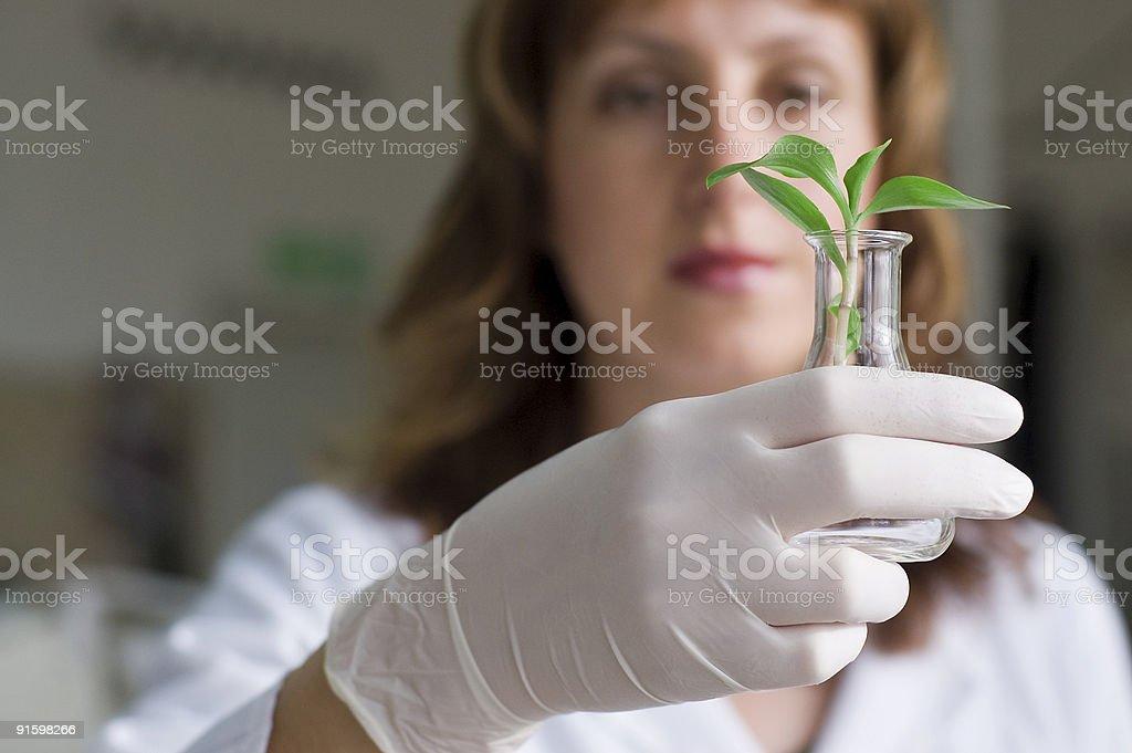 biotechnology royalty-free stock photo