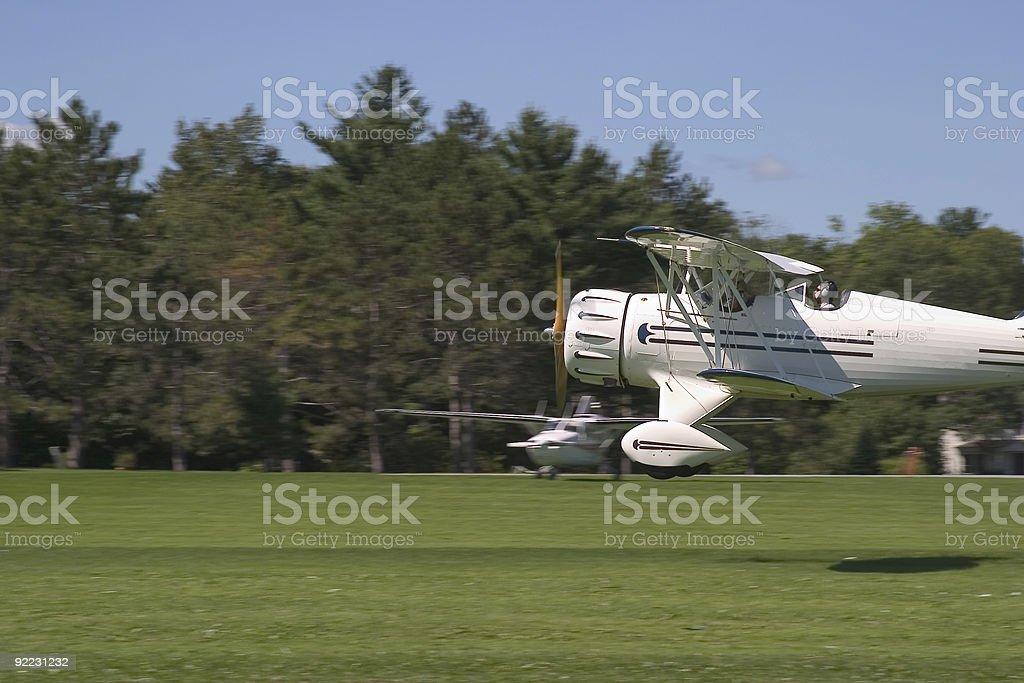 Bi-Plane 03 royalty-free stock photo