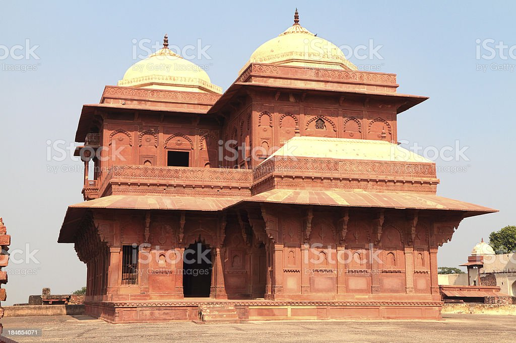 Birbal's House, Fatehpur Sikri, Uttar Pradesh, India stock photo
