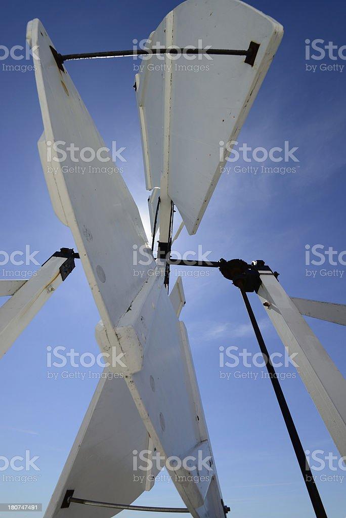 Bircham Windmill. royalty-free stock photo