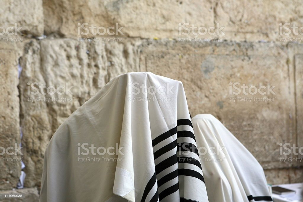 Birchat Cohanim (priestly blessing) royalty-free stock photo