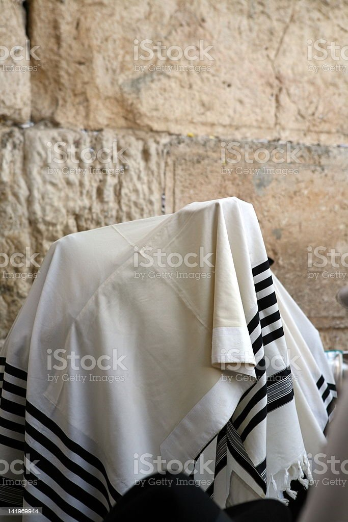 Birchat Cohanim (priestly blessing) stock photo