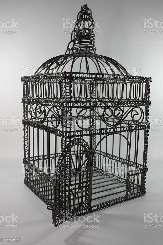 Bird Cage royalty-free stock photo