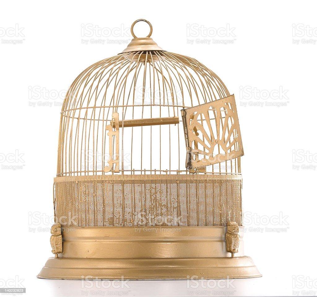 bird cage_15438-58 royalty-free stock photo