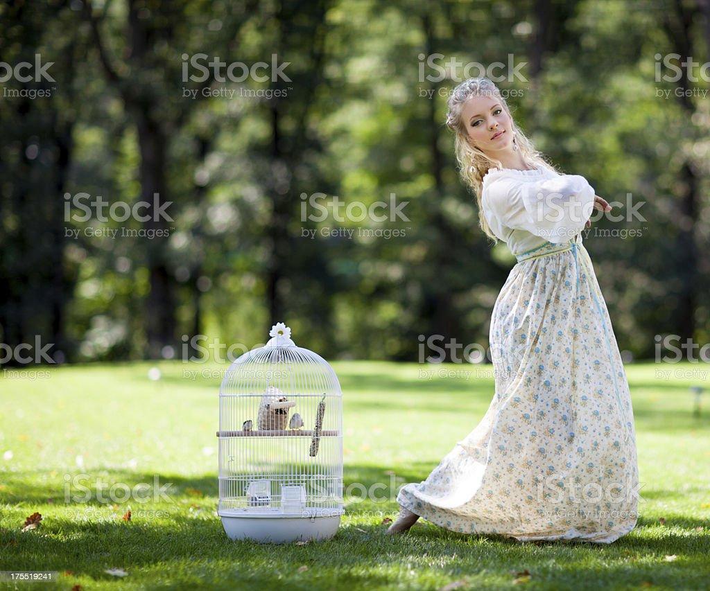 Bird fancier royalty-free stock photo