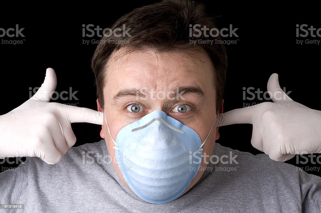 Bird flu...not again ! royalty-free stock photo