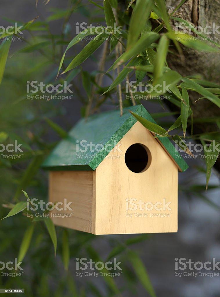 Bird House royalty-free stock photo