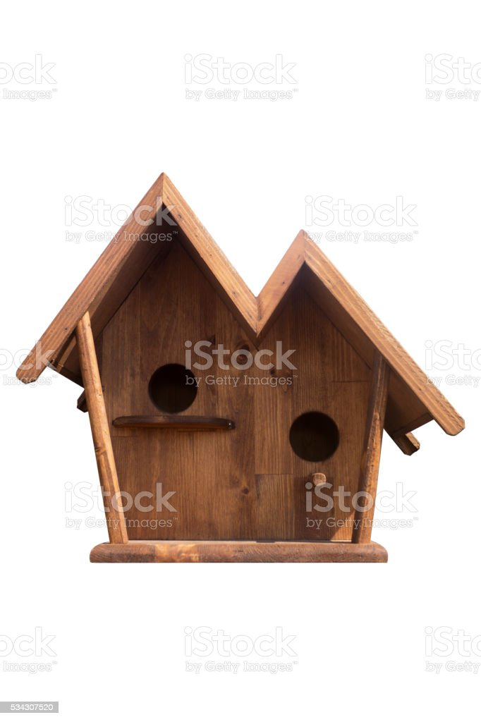 bird house stock photo