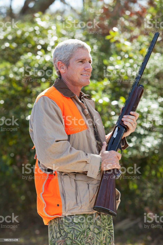 Bird hunter royalty-free stock photo