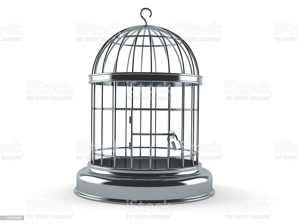 Birdcage stock photo
