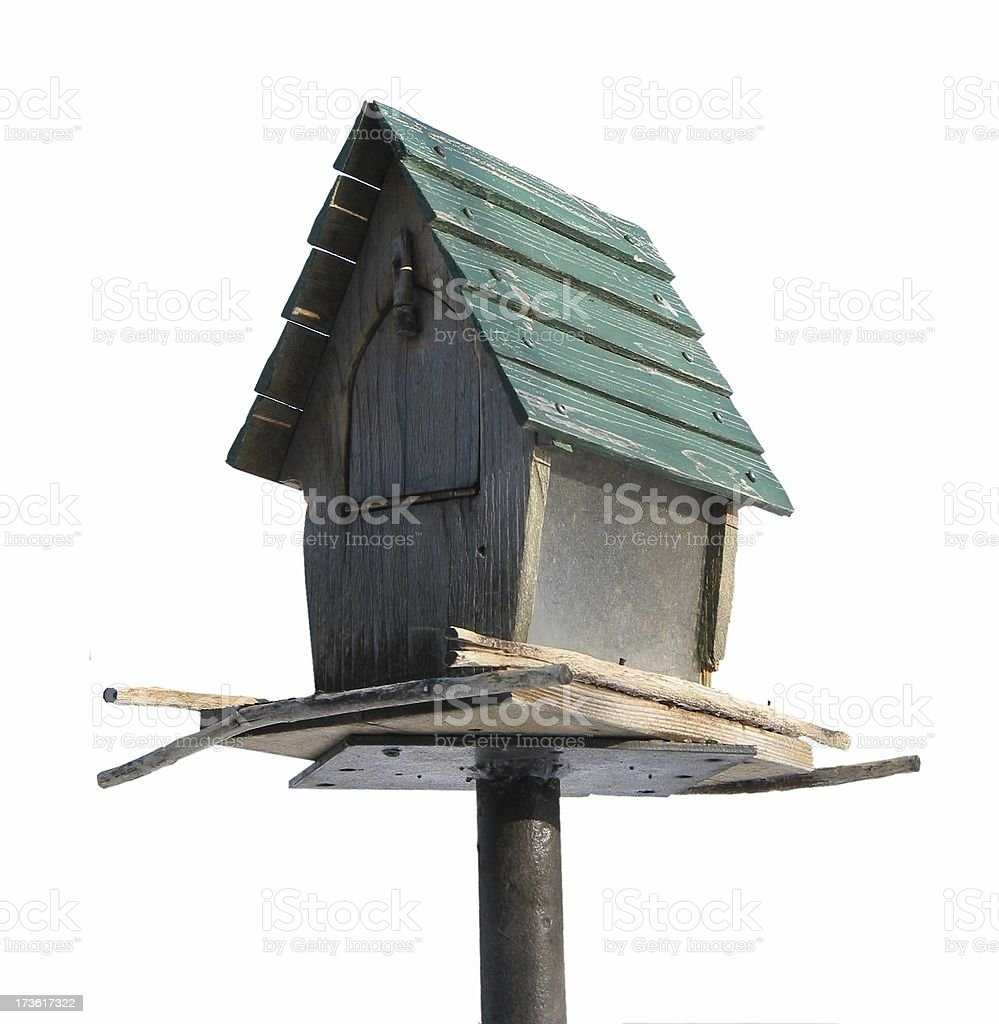 birdfeeder isometric isolated royalty-free stock photo