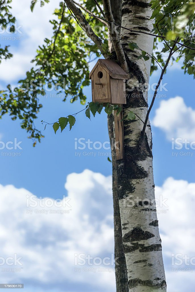 Birdhouse - home for birds royalty-free stock photo