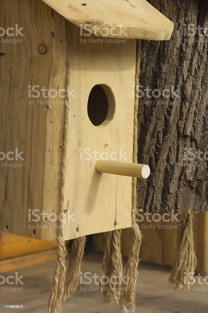 bird-house royalty-free stock photo