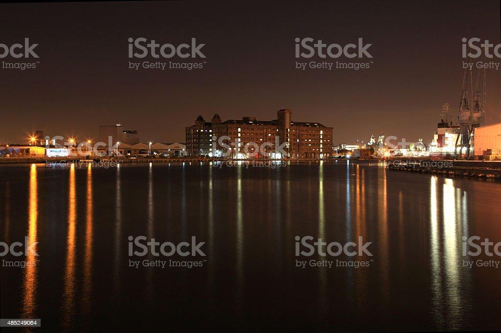 Birkenhead Dock Beauty stock photo