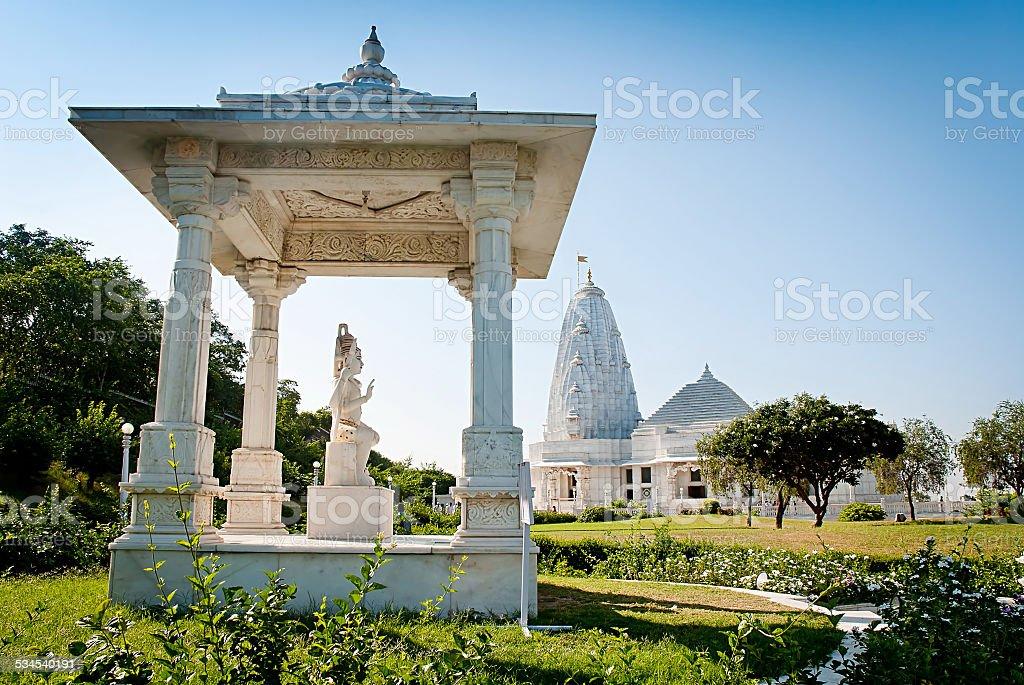 Birla Mandir est un temple hindou de Jaipur, Rajasthan, Inde photo libre de droits