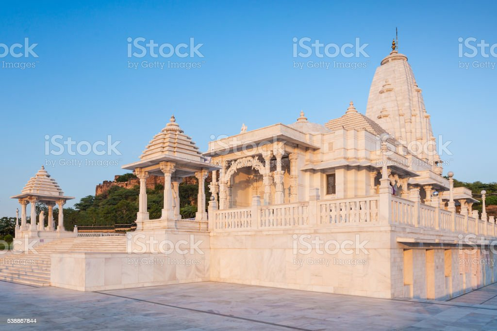 Birla Mandir, Jaipur stock photo