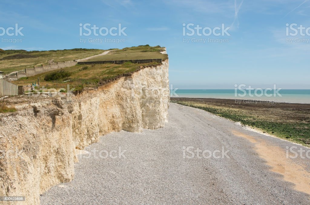 Birling Gap near Eastbourne, Sussex, England stock photo