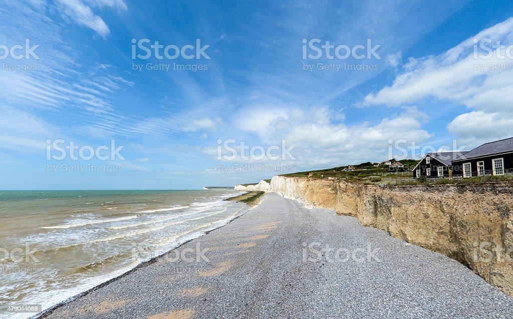 Birling Gap stock photo